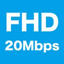 無料プラン:サンプル動画 超高画質 Full HD 1080p 20Mbps