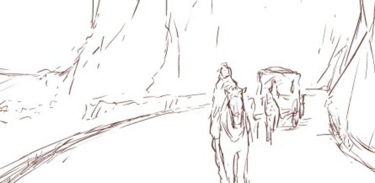 【連載】黒のリーマンと氷城の銀華姫 #53