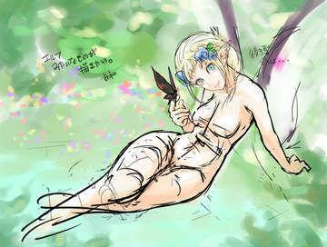 エルフみたいなのが描きたい2。