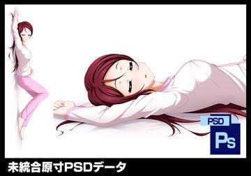 【PSD】ラブライブ!添い寝抱き枕カバー 桜内梨子 裏【抱き枕カバー】