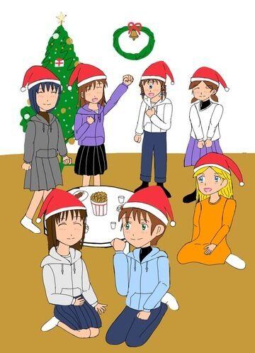 奈々絵にゃんinクリスマスパーティー