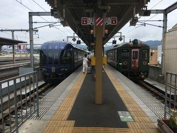 丹鉄の観光列車に乗って日本海沿岸の宮津へ