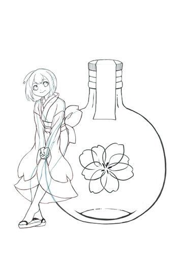 擬人化【桜のリキュール】