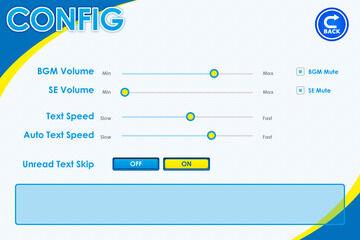 コンフィグ画面にスライダーを使用する(画像拡張)