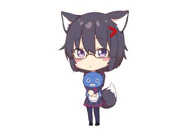 ナナ狐アクキ画像きました!
