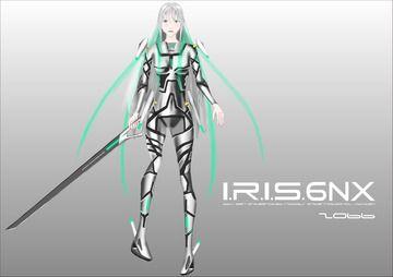 I.R.I.S.6NX戦闘スタイル