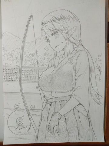 弓道エルフ