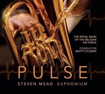 WBP Plus!にスティーヴン・ミード(ユーフォニアム)最新アルバム「パルス」ほか10タイトルを追加しました