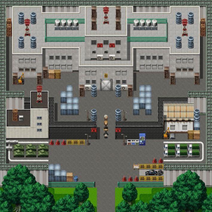 タツヤさんの悶絶調教RPG 進捗(マップ製作)