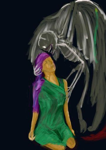 骨天使の迎えは、ただ優しい。