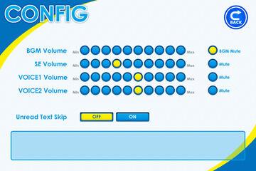 コンフィグ画面で効果音のbuf毎に音量を管理する
