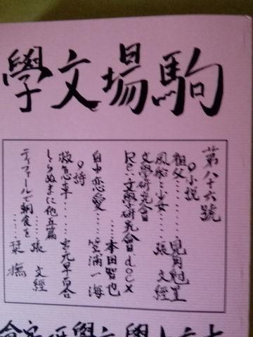 『花降り』張文經(駒場文学86号)レビュー