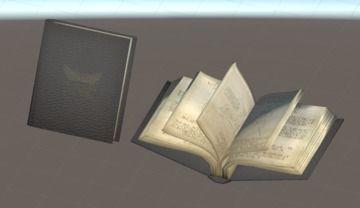 【モデル配布】謎の古文書