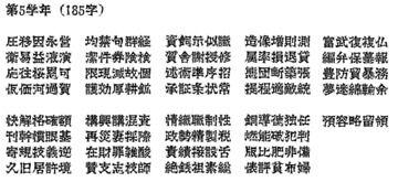 悪党フォントの進捗(2017/10/23)