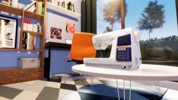 3Dの家庭用ミシン