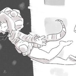 ツチノコと秋雷