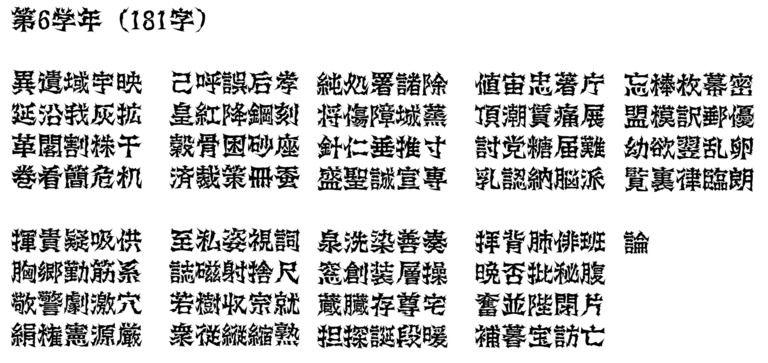 悪党フォントの進捗(2017/11/15)