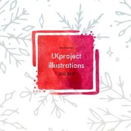 LKproject5周年記念イラスト集入稿しました。