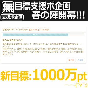 目標支援ポ企画・春!開催!!