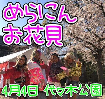 4月4日(土) めらにんお花見 開催決定!!