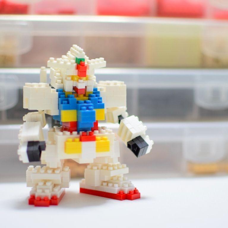 ナノブロック ガンダムの作り方