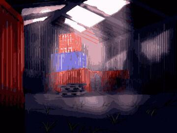 今作ってるゲームの背景ドット絵