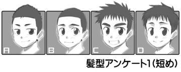 髪型アンケート1(短め)