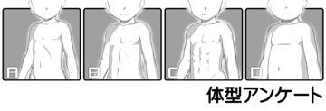 体型アンケート