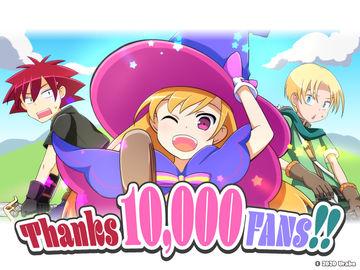 YouTubeチャンネル登録者数10,000人達成しました!