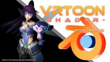 VRToon Shader for Eevee 配布します