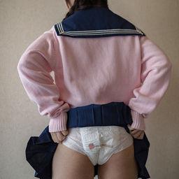Twitterで出会ったおむつ女子、雪子。