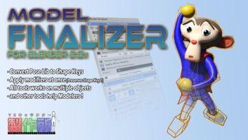 Model FinalizerをBlender 2.8対応にアプデしました