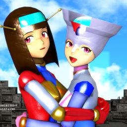 Azusa(VenusA) &(v.s.) Takane(DiananA)