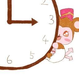 無料でダウンロード 時計 アイコン かわいい Cokaikon