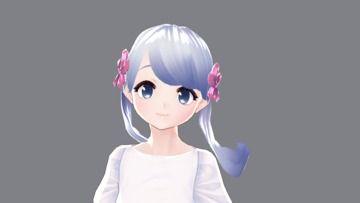 VRoidでつくよみちゃんの3Dモデルを作りました!