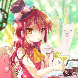 【グッズ絵】森のカフェちゃんとブレークタイム