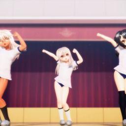 【MMD】イリヤと美遊とクロですーぱー☆あふぇくしょん Full【1080p】
