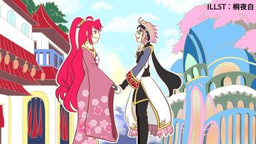 コラボ!「月華美刃」×「桜フェアリー」