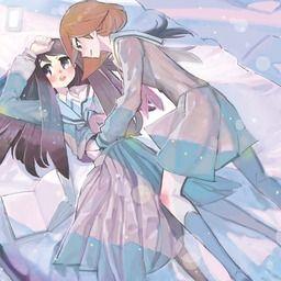 COMITIA124【か03b】学生百合小説『青の幻像』