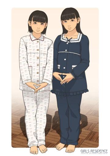 パジャマ女児さん(10&11)