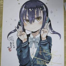 おんしちゃん1週年記念色紙(詫)