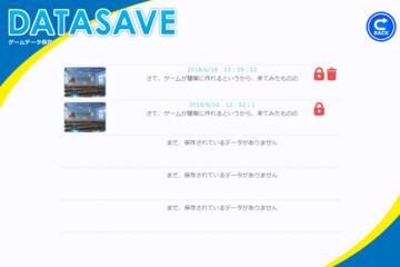 セーブ画面にデータの保護・削除機能を追加するカスタマイズコード