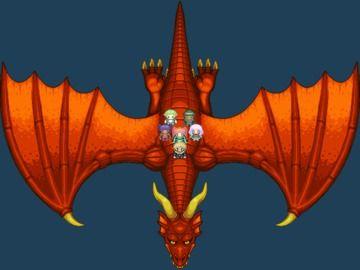 【友達・お宝プラン】6月の限定素材その3「大きなドット絵ドラゴン素材」