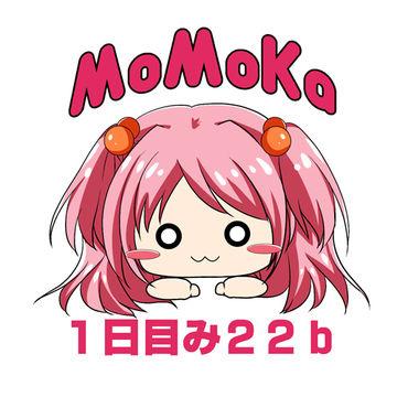 夏コミ情報(*'ω'*)!!MOMOKA。がいない時間とか差し入れについて!…と新作パケイラスト公開!