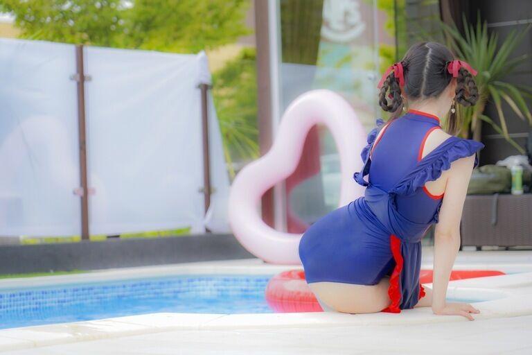 プール撮影会⭐️水着でやってきました!