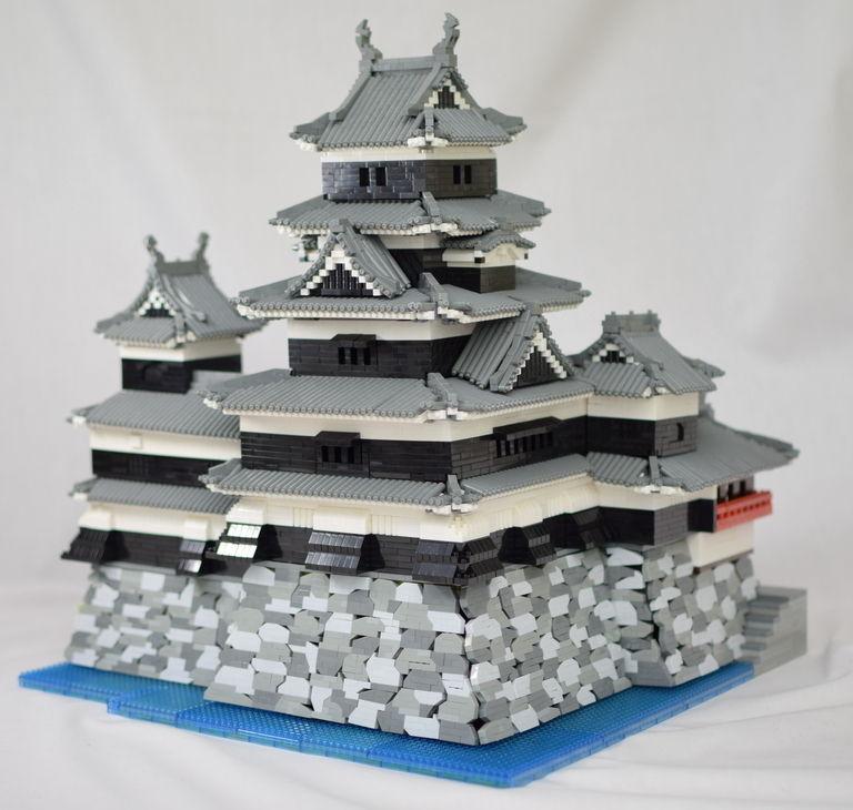 [ナノブロック作例] 松本城