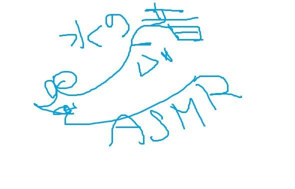 ASMR動画ごっこ