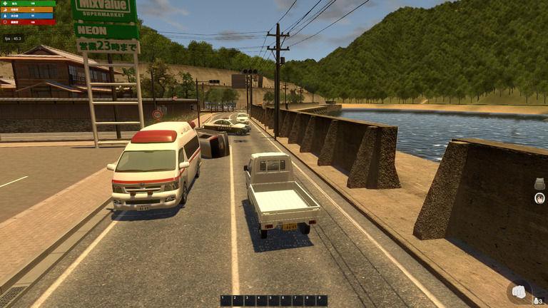 ベータバージョン19 車運転システム、車追加