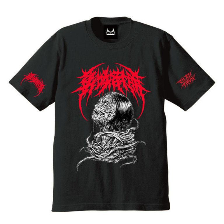 Sサイズ Brutal Nao Masaki T-shirts (Black×Red Logo)