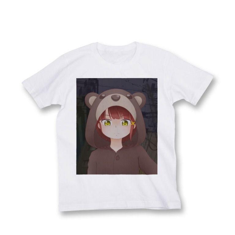 岩倉玲音 クマパジャマ(カラー)-淡色印刷 size XL-